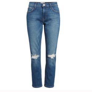 NWT Current/Elliott High Waist Straight Jeans